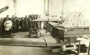 MD 1932, august-Proba statica a avionului de scoala